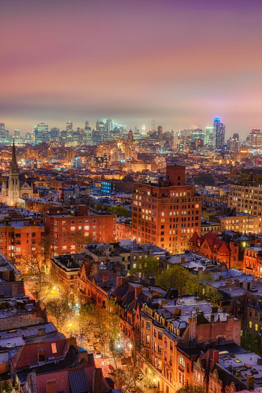 Brooklyn skyline after a storm